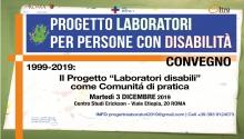 Convegno 1999-2019 Il Progetto